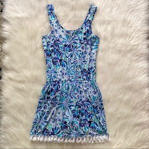 Lilly Pulitzer Dresses - lilly pulitzer - jarrett romper dress tassels